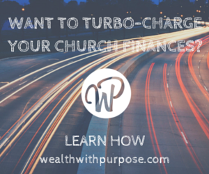Want to turbo charge your Church finances?